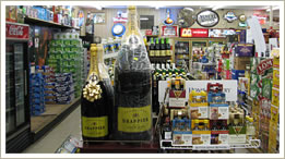 Formula 1 champagne big bottles20 liters