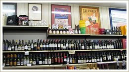enormous selection of fine wines from brazil, australia, california, wines from around the world